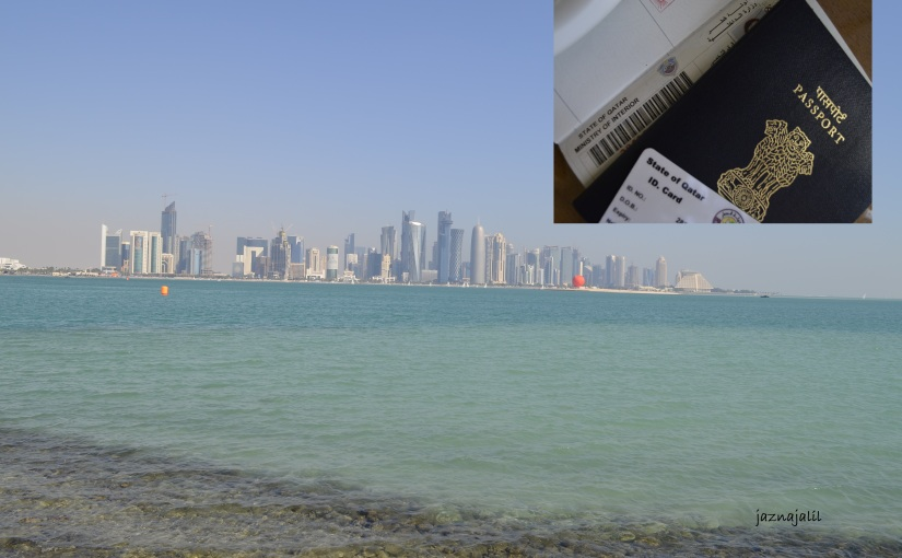 Applying for a Qatar visit visa for familymembers.