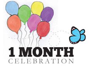 1-Month-Celebration