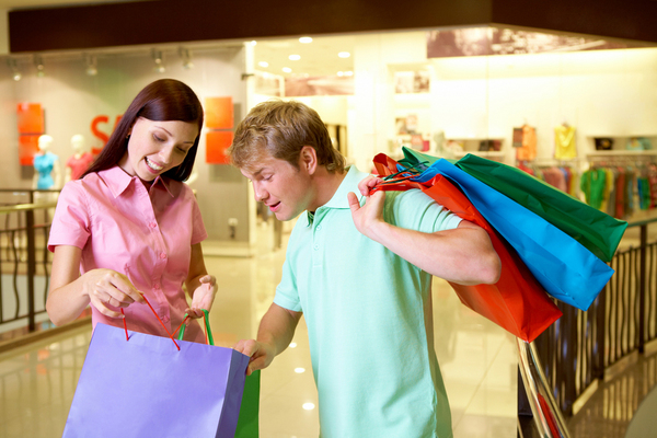 9 reasons why women and men shouldn't shoptogether….