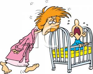 A_Tired_Mother_Walking_To_Her_Crying_Babys_Crib_Royalty_Free_Clipart_Picture_100410-163229-979009