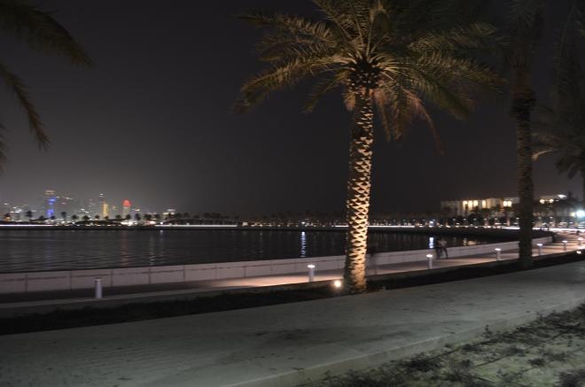 A mini- Corniche, sans the crazy, weekend crowd!