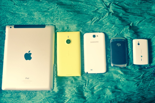 Size comparisons . Impartial to size, color, creed, brand or operating system...