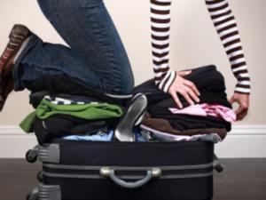 Mum's packing again.