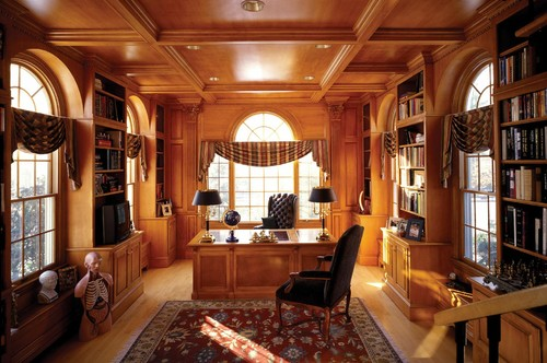 Traditional-Home-Office-Cabinet-with-High-Quality-Oak