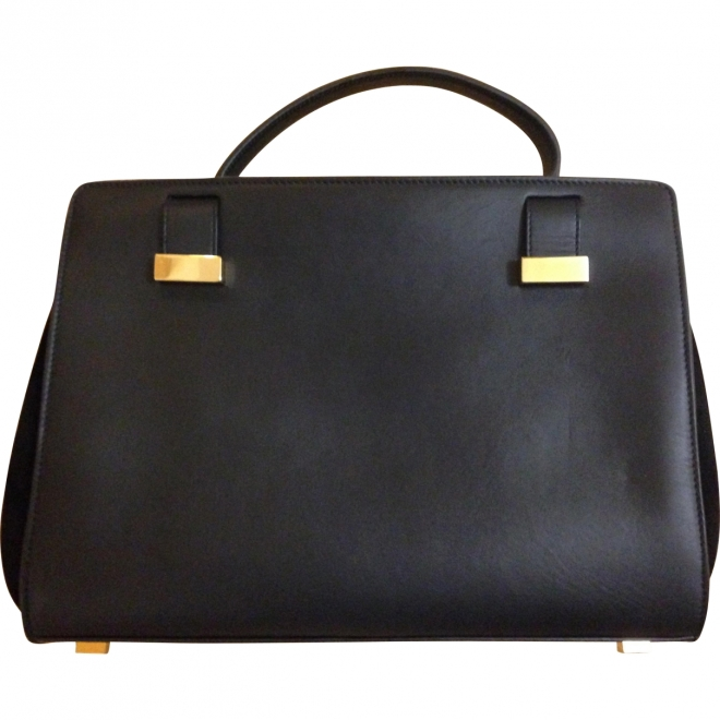 The Row, leather and suede doctor bag, £3210