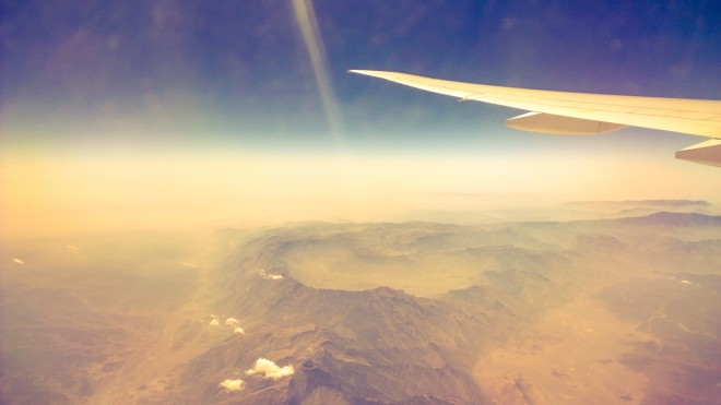 Breathtaking views over Oman